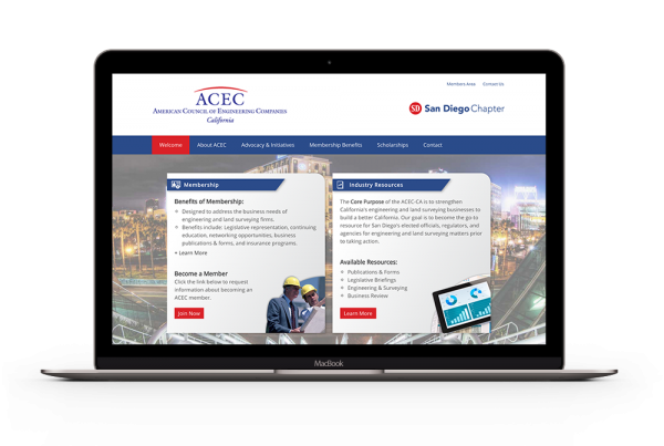 Pinpoint Digital - Website Development - ACEC CA San Diego