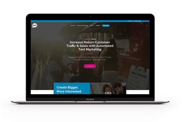 Pinpoint Digital - Website Development - Roadshow BOOST